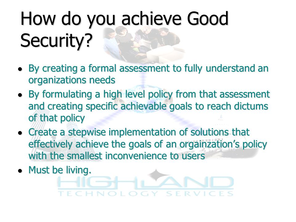 The Integrated in Integrated Security Solutions Integrated has two meanings: 1.