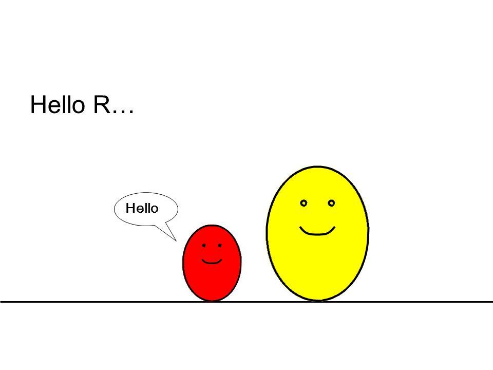 Hello R… Hello