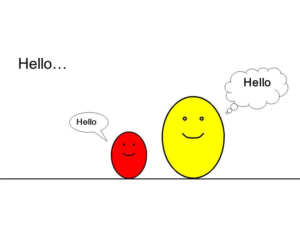 Hello… Hello