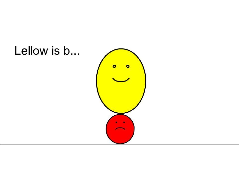 Lellow is b...