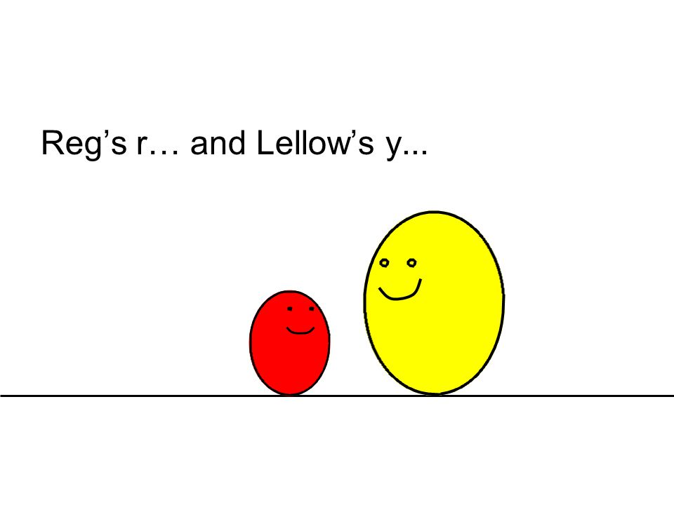 Reg's r… and Lellow's y...