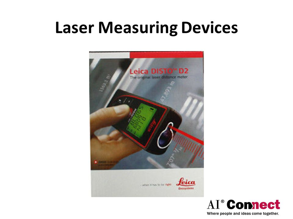 Laser Measuring Devices