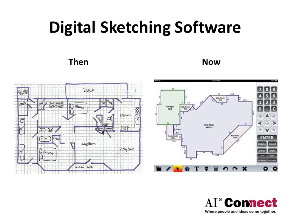 Digital Sketching Software ThenNow