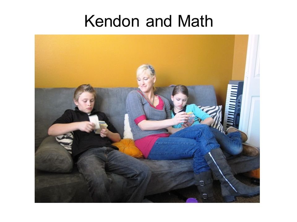 Kendon and Math