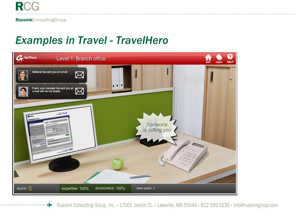 Examples in Travel - TravelHero