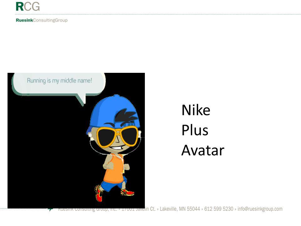 Nike Plus Avatar
