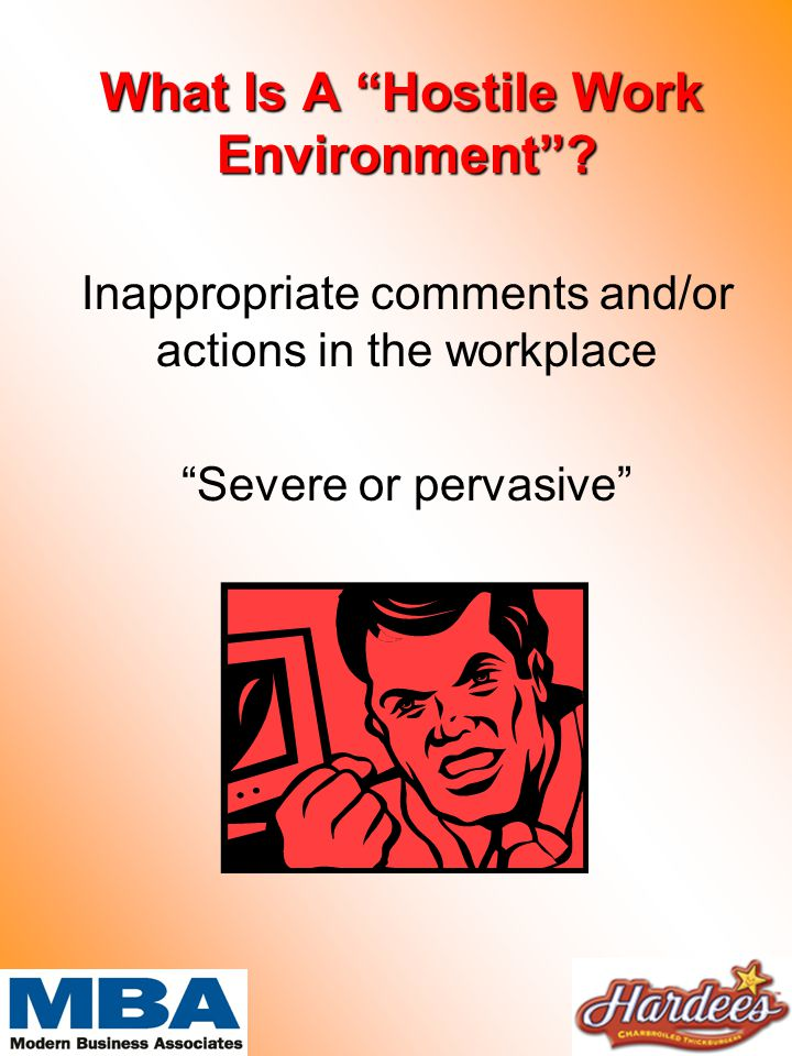 What Is A Hostile Work Environment . What Is A Hostile Work Environment .