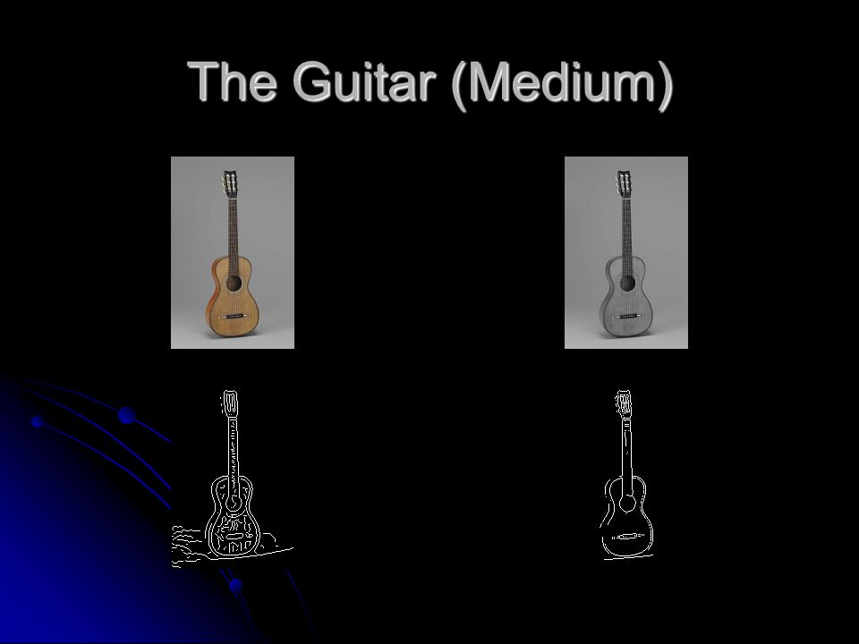 The Guitar (Medium)