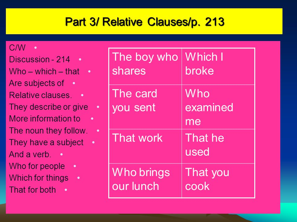 Part 3/ Relative Clauses/p.