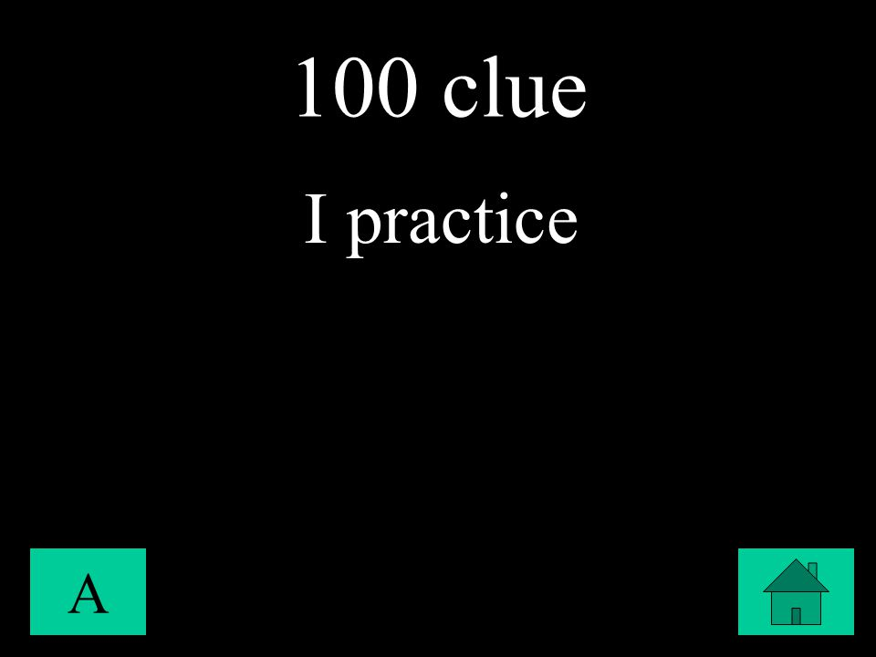 100 clue A I practice