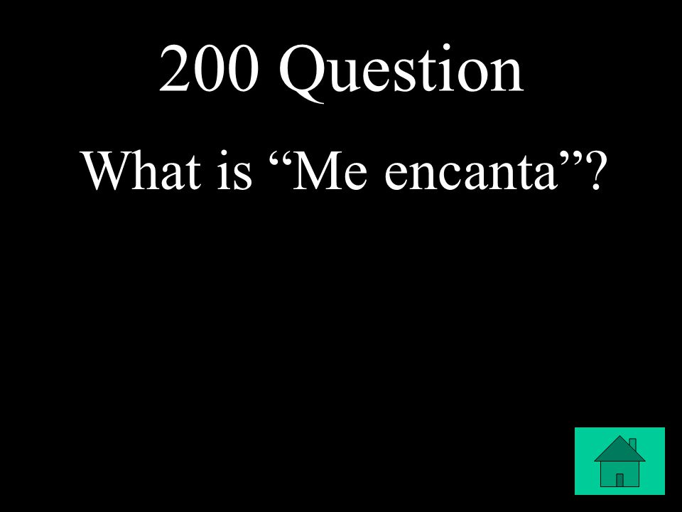 200 Question What is Me encanta