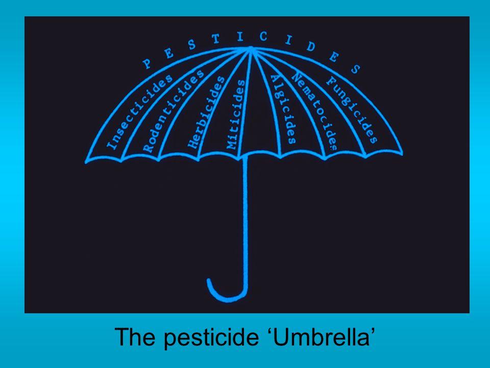 The pesticide 'Umbrella'
