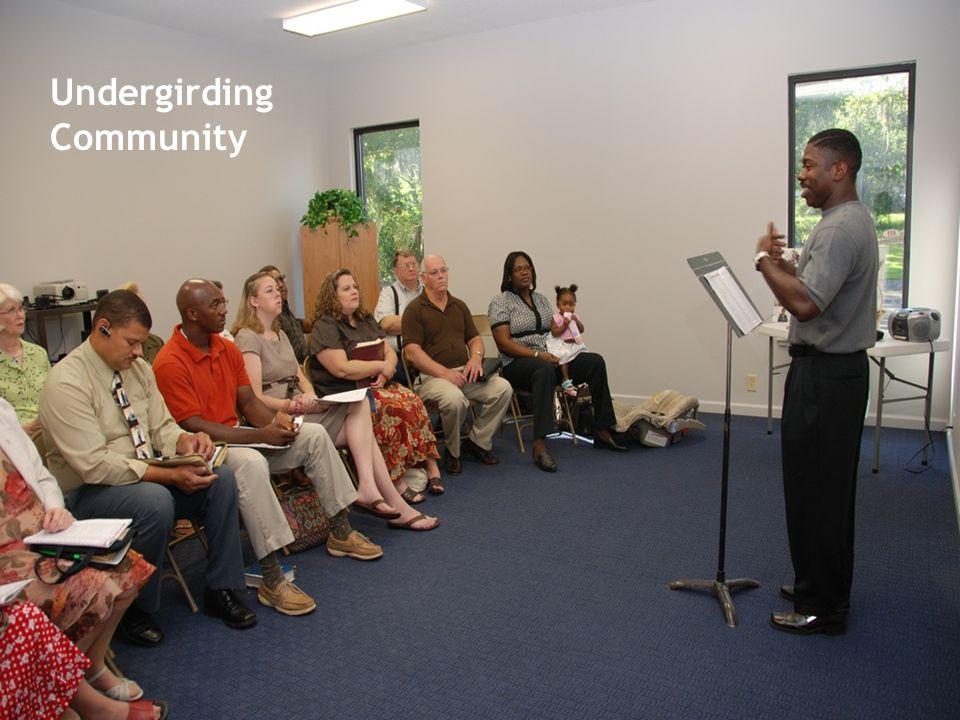 Undergirding Community