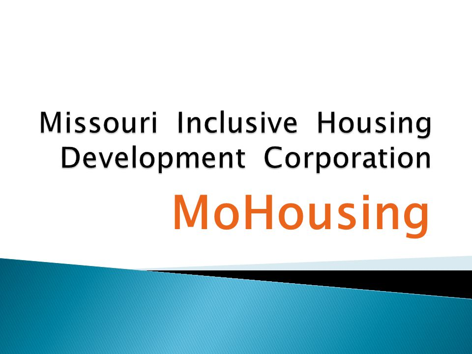  We are a project funded by the Mo. Developmental Disabilities Council.