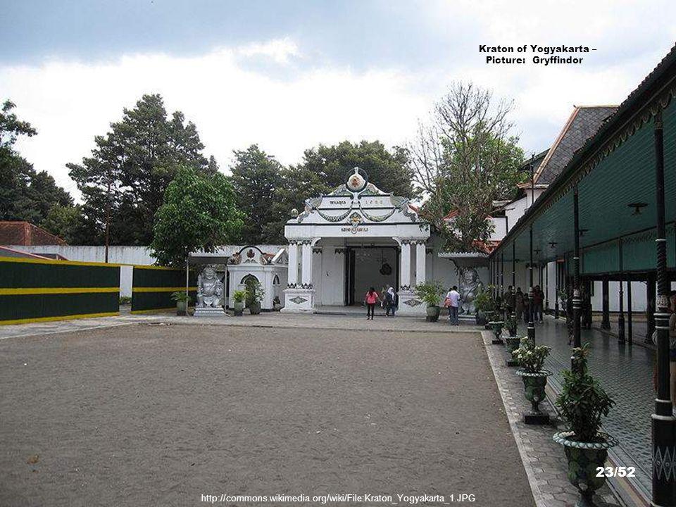 Kraton of Yogyakarta – Picture: Gunawan Kartapranata 22/52