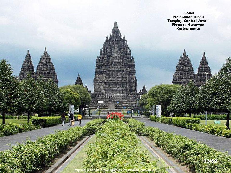 http://commons.wikimedia.org/wiki/File:Buddha_Mendut.jpg Buddha Statues, Candi Mendut(Buddhist Temple), Magelang, Central Java – Picture: Gunkarta 32/52