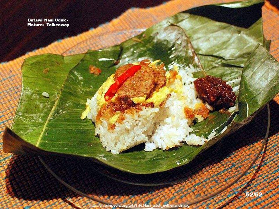 Jakarta Laksa - Picture: Sakurai Midori http://en.wikipedia.org/wiki/File:Laksa_Jakarta.JPG 51/52