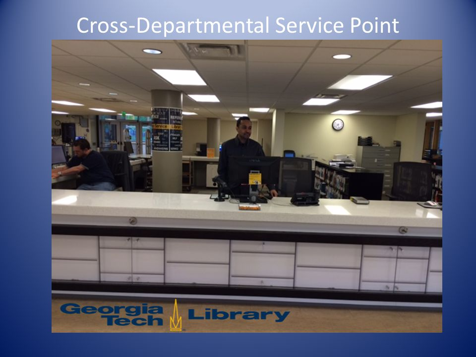 Cross-Departmental Service Point