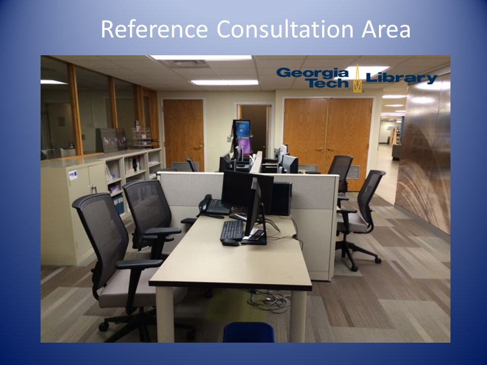 Reference Consultation Area