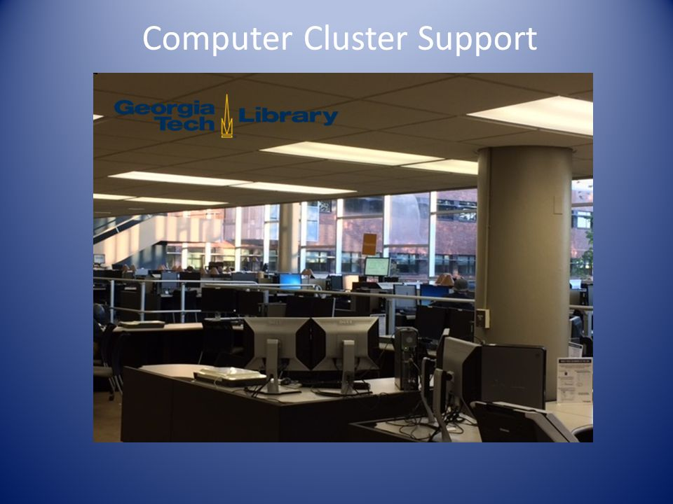 Computer Cluster Support