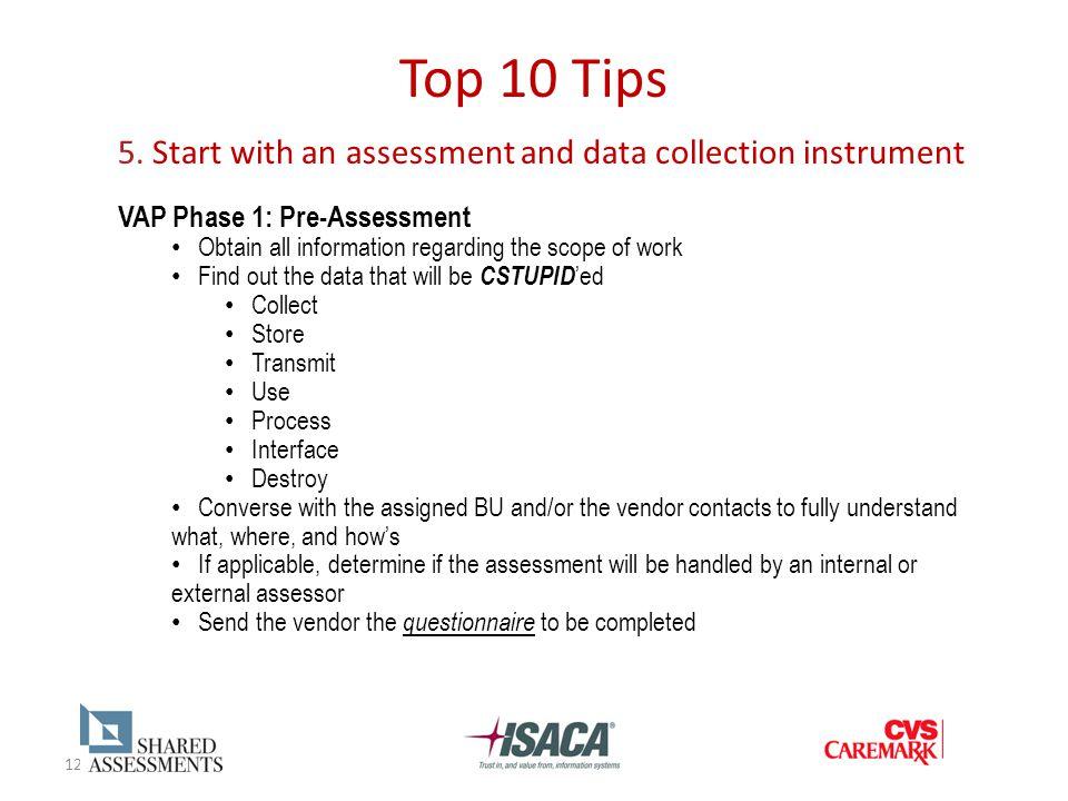 12 Top 10 Tips 5.