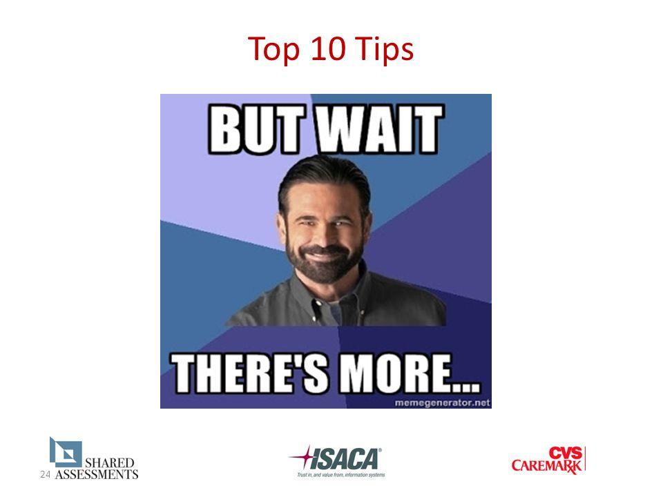 24 Top 10 Tips