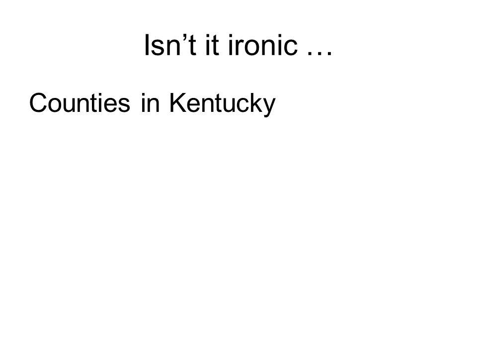 Counties in Kentucky