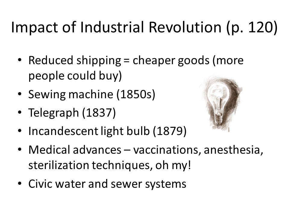 Impact of Industrial Revolution (p.
