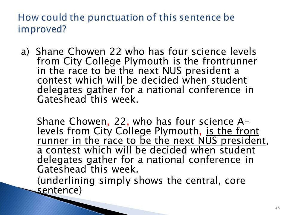 a) Shane Chowen 22 who has four science levels from City College Plymouth is the frontrunner in the race to be the next NUS president a contest which
