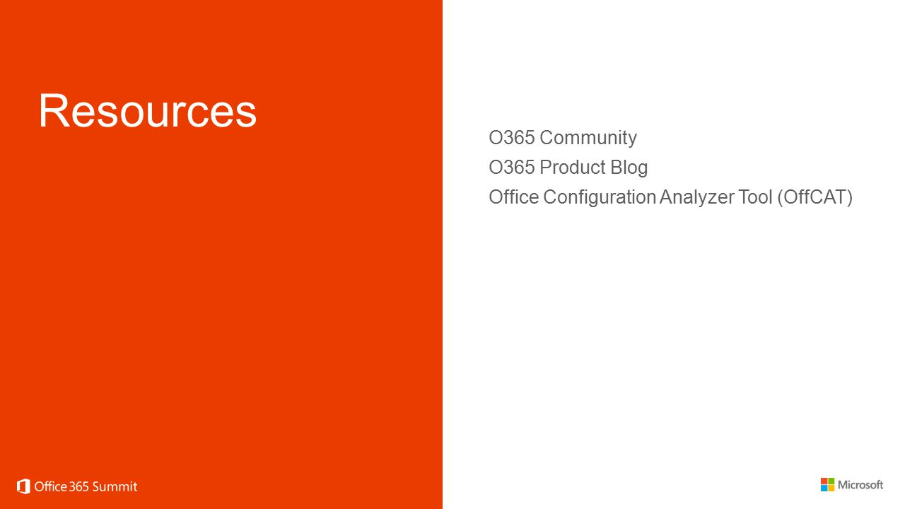 Resources O365 Community O365 Product Blog Office Configuration Analyzer Tool (OffCAT)
