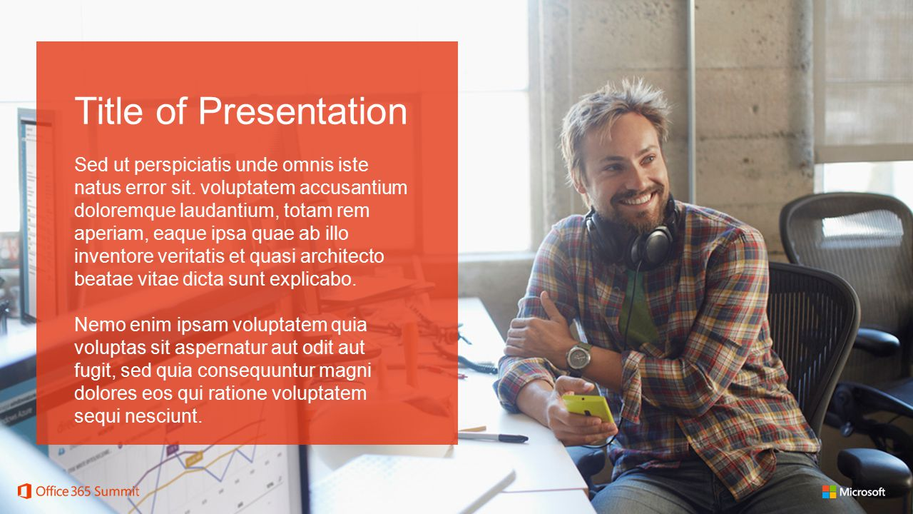 Title of Slide here.