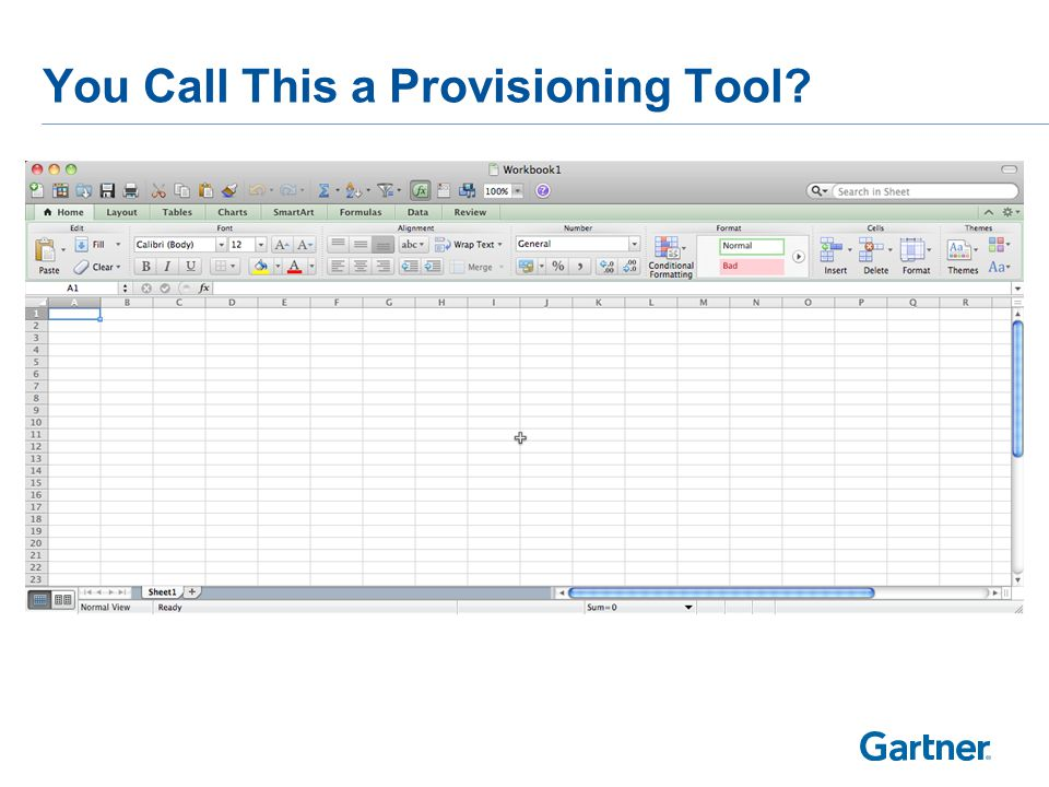 You Call This a Provisioning Tool
