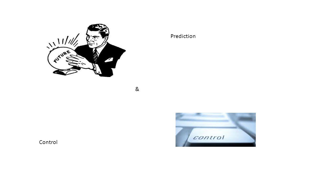 Prediction & Control