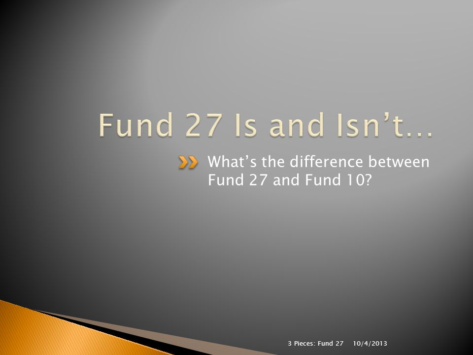  Complete the following: Fund 27 is used to account for the excess costs of serving… a)students with disabilities.