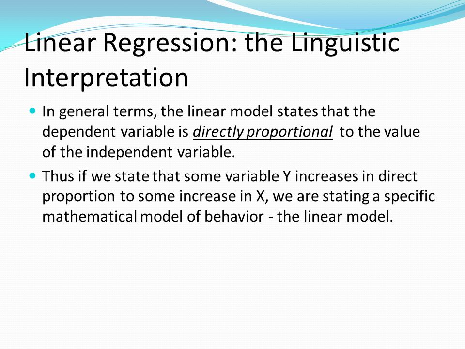 Decomposition of the error in LS