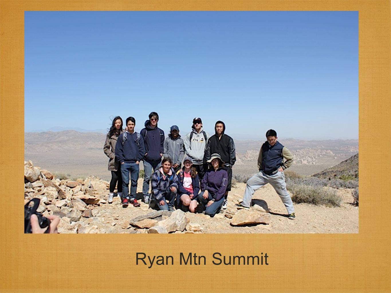 Ryan Mtn Summit