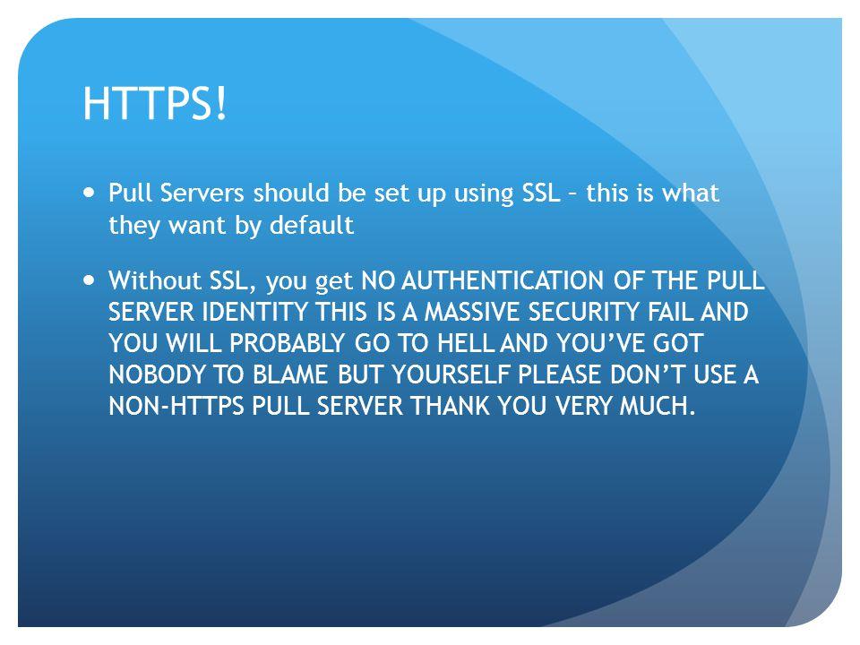 HTTPS.