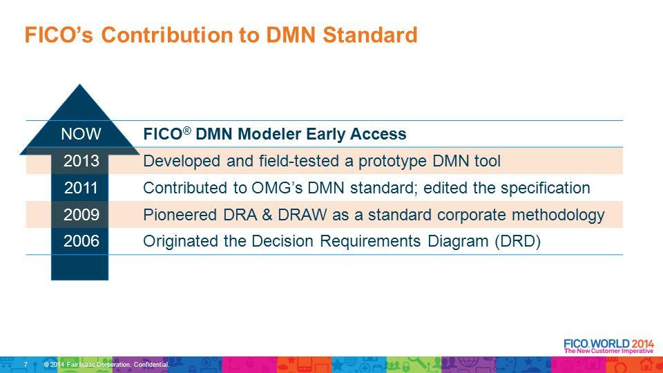 © 2014 Fair Isaac Corporation. Confidential. FICO ® DMN Modeler 28