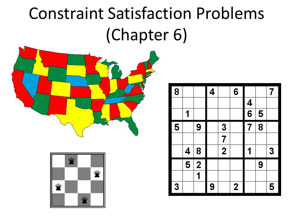 Constraint Satisfaction Problems (Chapter 6)