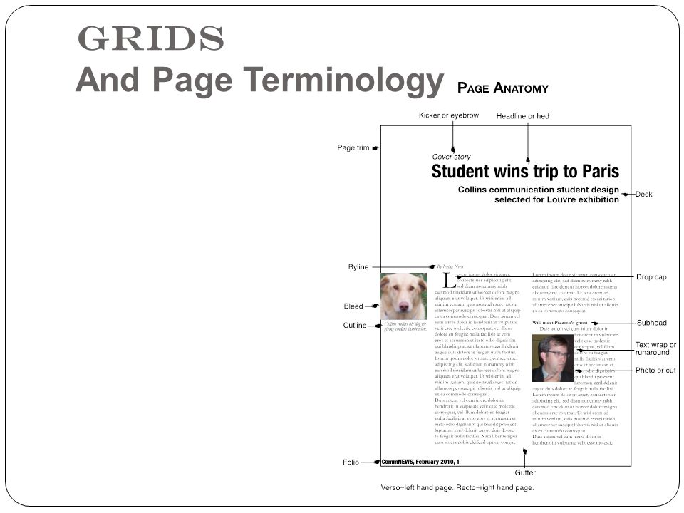 Grids And Page Terminology