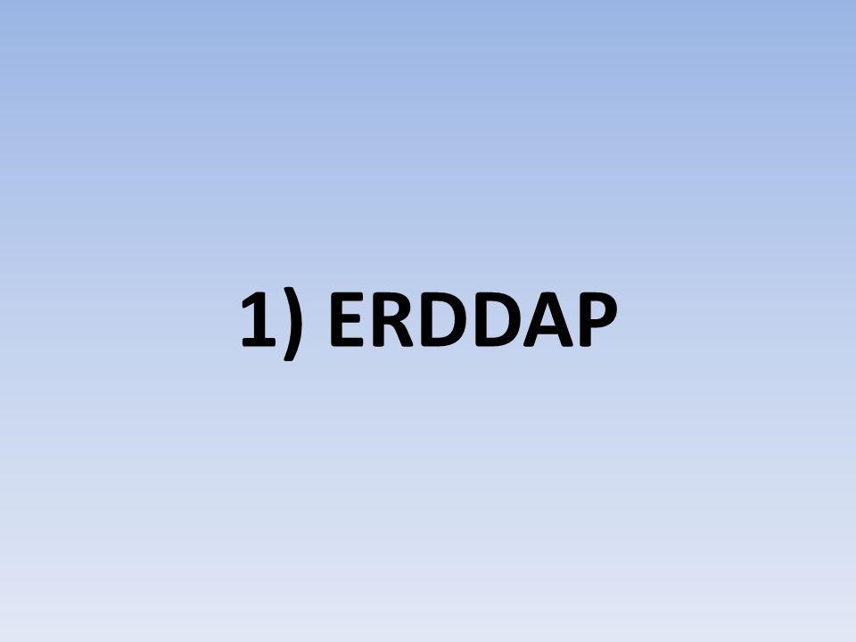 1) ERDDAP