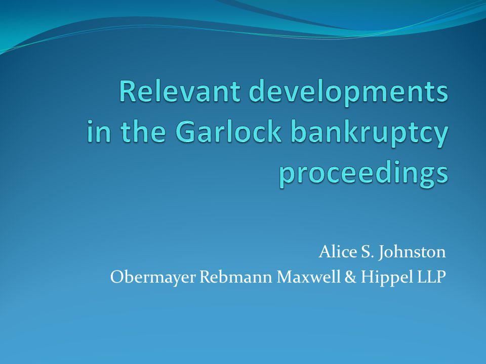 Alice S. Johnston Obermayer Rebmann Maxwell & Hippel LLP
