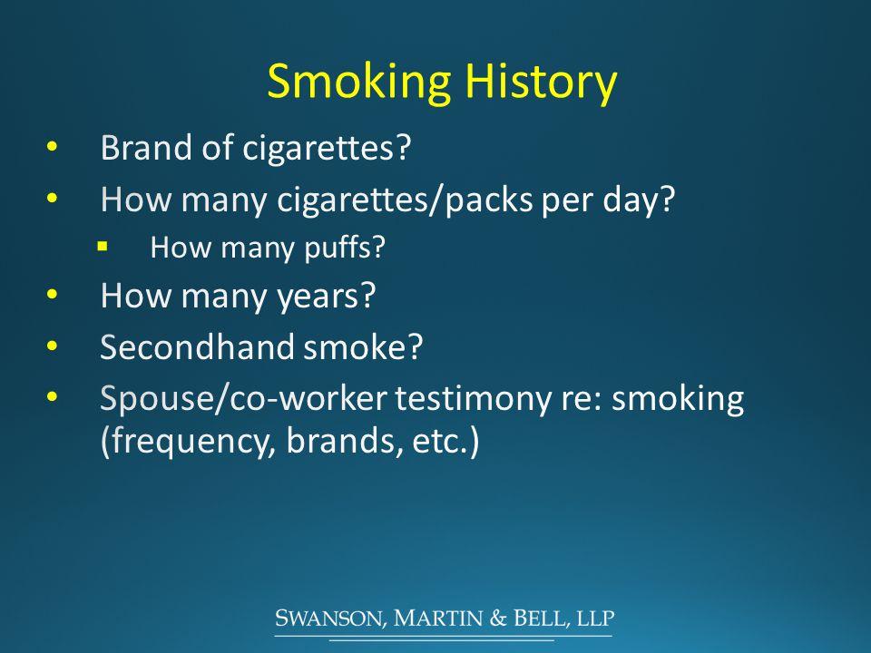 Smoking History