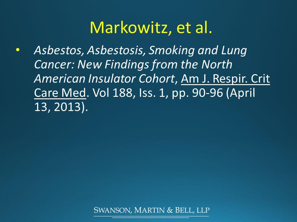 Markowitz, et al.