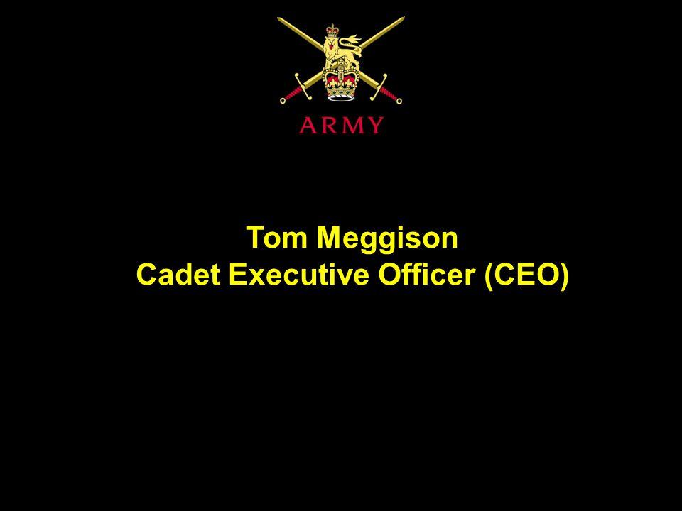 Tom Meggison Cadet Executive Officer (CEO)