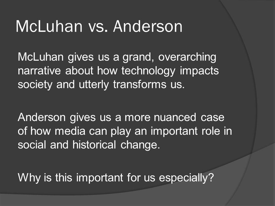McLuhan vs.