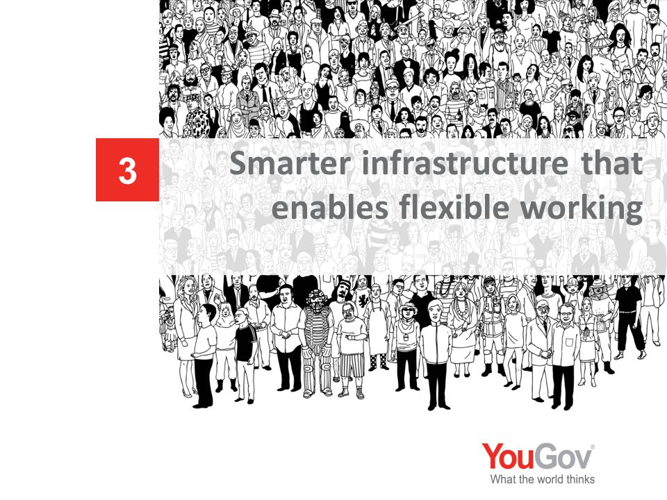 Smarter infrastructure that enables flexible working 3