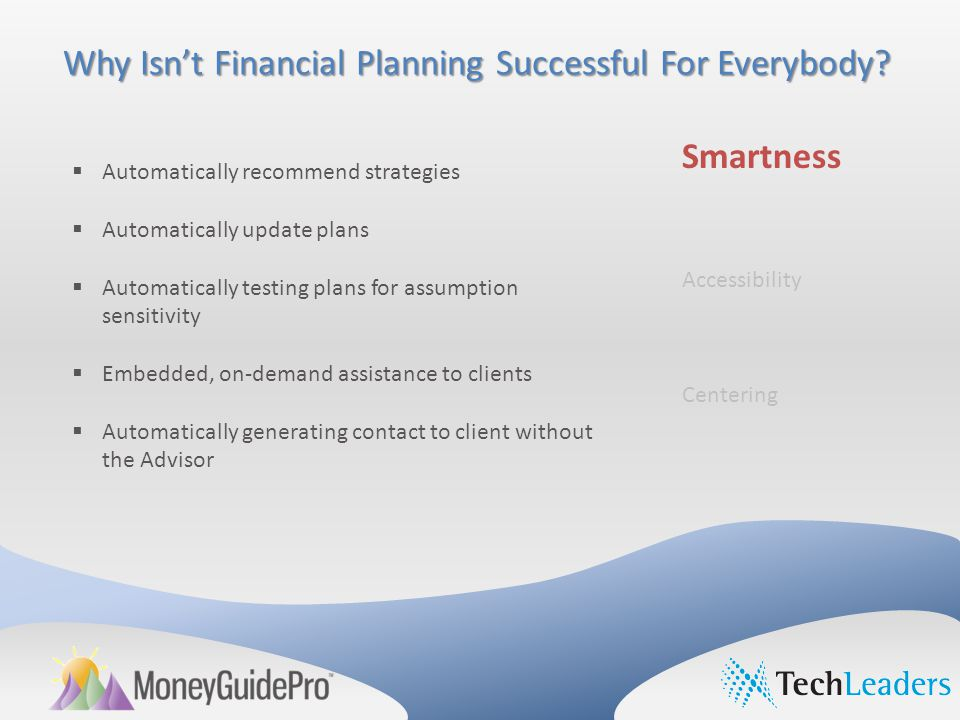 Why Isn't Financial Planning Successful For Everybody.
