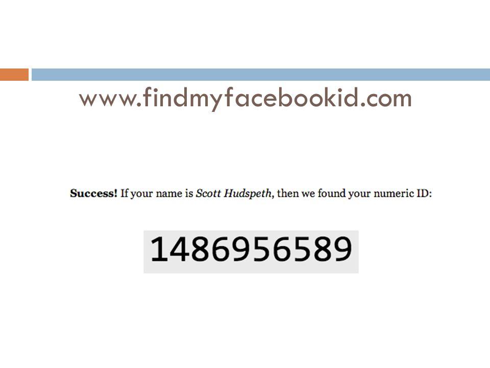 www.findmyfacebookid.com
