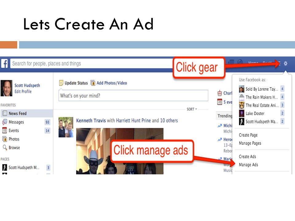 Lets Create An Ad